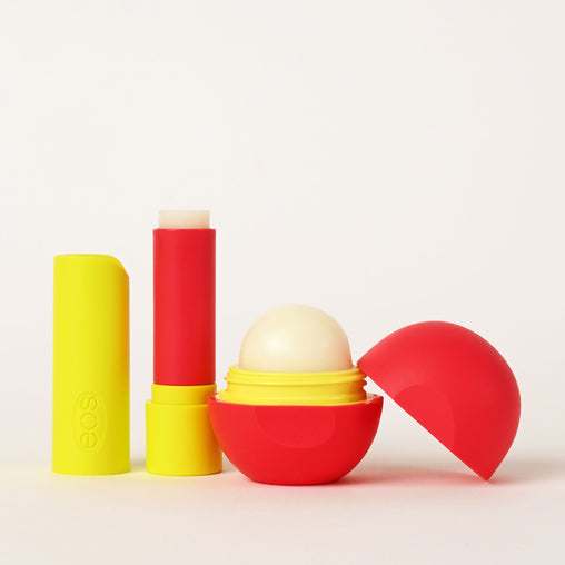 pineapple passionfruit and coconut milk stick and sphere lip balm - eos - alt image 2