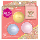 cotton candy snow, caramel brulée sleigh and champagne pop 3-pack lip balm - evolutionofsmooth