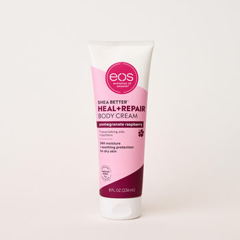 pomegranate raspberry body cream - eos