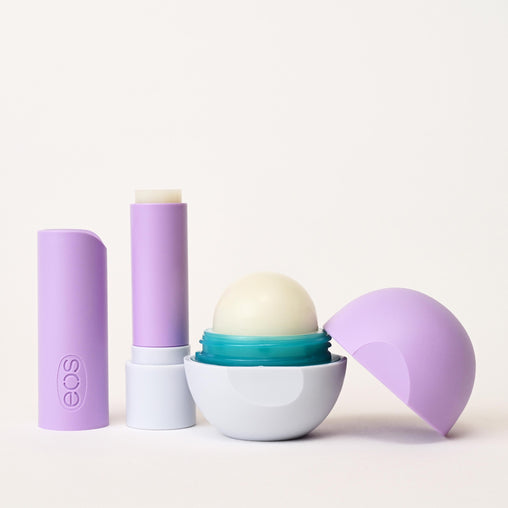 dream - warm vanilla milk stick & sphere lip balm - eos - alt image 2