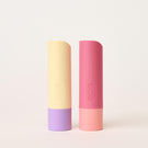lavender latte and sweet grapefruit 2-pack lip balm - eos