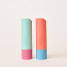 watermelon frosé and lychee martini 2-pack lip balm - eos