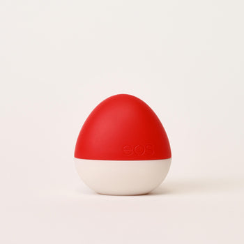 red haute tinted lip balm - eos