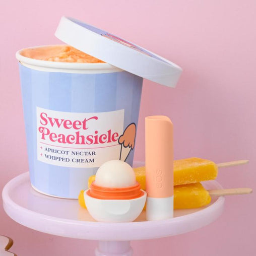 sweet peachsicle stick & sphere lip balm - eos - alt image 5