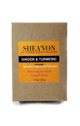 Ginger & Turmeric Healing Bar