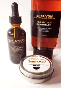 Classic Men Beard Care Set