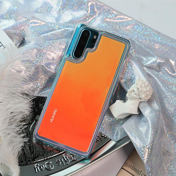 Dynamic Noctilucent Quicksand Phone Case for HUAWEI P20/P20Pro/P30/P30Pro/Mate20/Mate20Pro