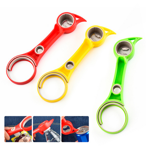 6-in-1 Adjustable Bottle Opener