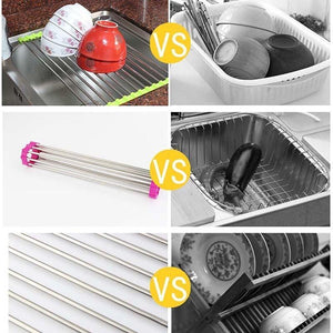 Kitchen essential tools - Roll-Up Draining Rack
