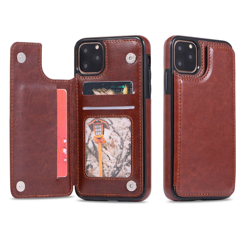 Flip Leather Wallet Case for iphone 11 XS Max Card Slot Holder Stand Ultra Thin Protection