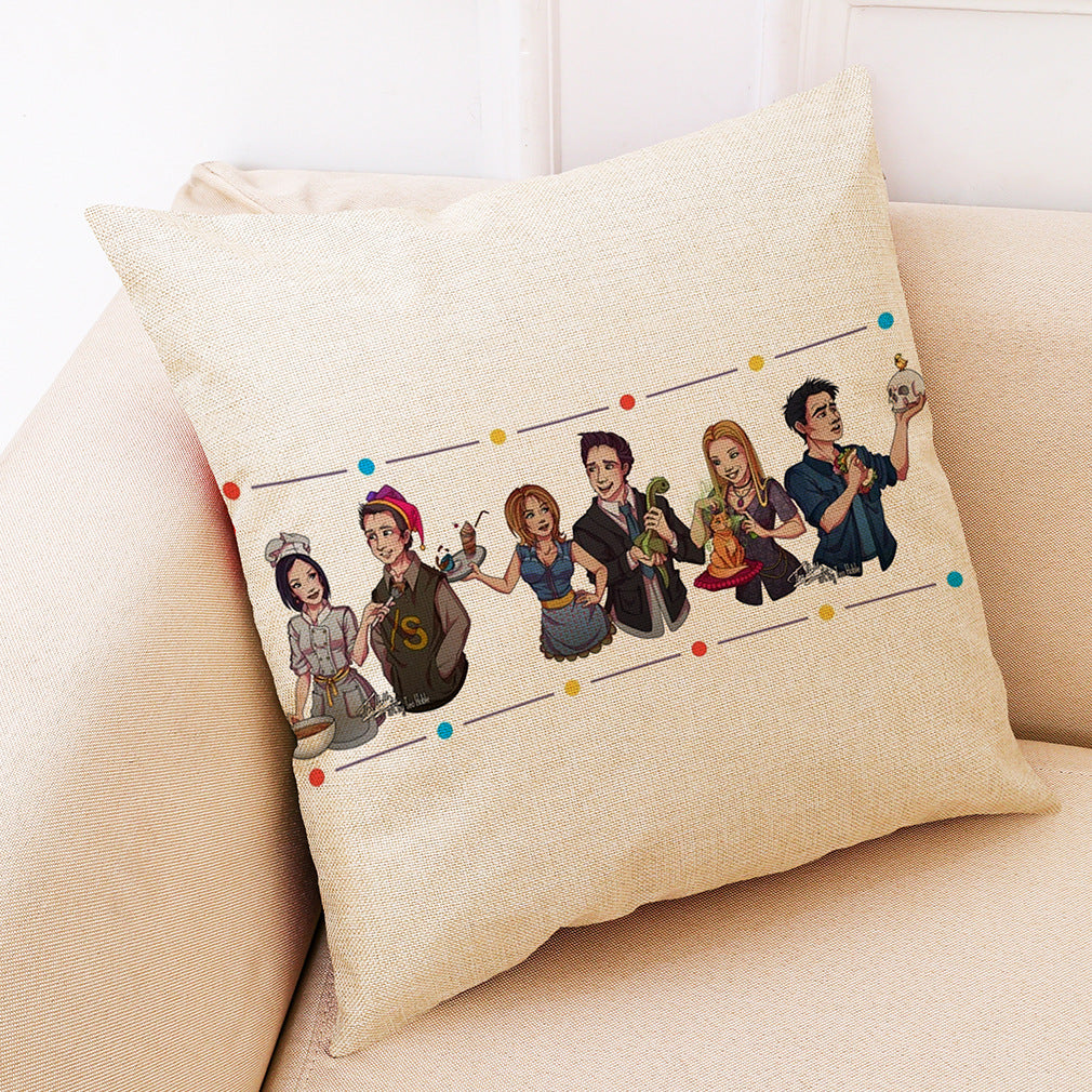 【Hot】 Friends Pillowcase