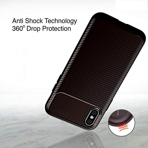 Carbon Fiber Case For iPhone Case High Quality Diamond Cover Grid Design Cover For iPhone Coque