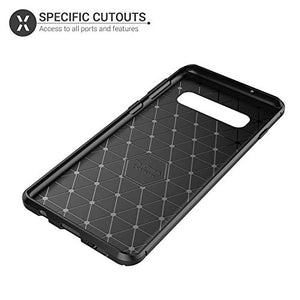 Samsung Case Back Cover Aramid Carbon Fibre Shockproof TPU  Ultimate Drop Protectio