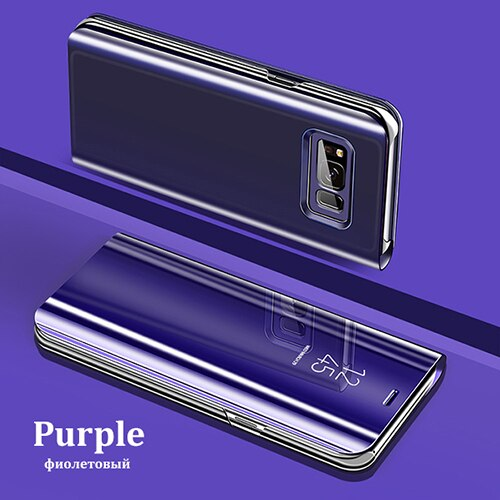 Luxury Flip Protection Full Screen Window Cases For Samsung S10/S10 PLUS/Note10 Pro