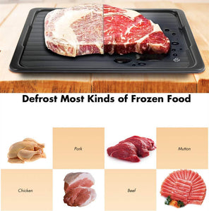 Magic Defrosting Tray(The special aluminum alloy material )