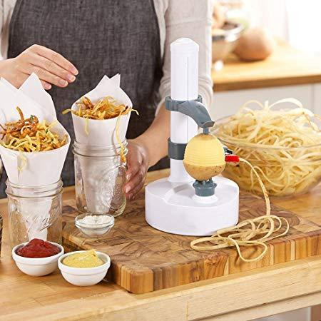 Electric multifunction fruit and vegetable peeler potato peeler