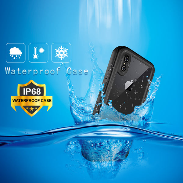 IP68 Luxury Waterproof Shockproof and Lifeproof Case For iPhone
