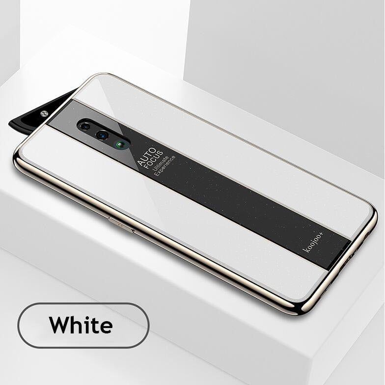Luxury iPhone 10x Zoom Case Electroplating Soft Adhesive Organic Glass Case Cover