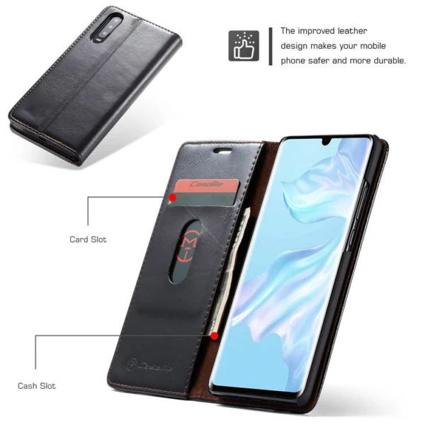 CaseMe For Huawei P20/30/Mate 20/Pro Wallet Stand Magnetic Flip Case