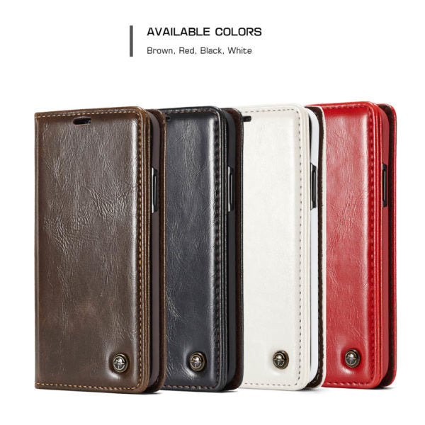 CaseMe For iPhone X/XS/Max Wallet Stand Magnetic Flip Case