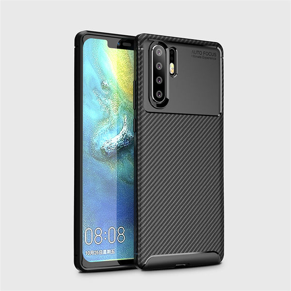 Case For Huawei Shockproof / Ultra-thin Back Cover Geometric Pattern Soft TPU