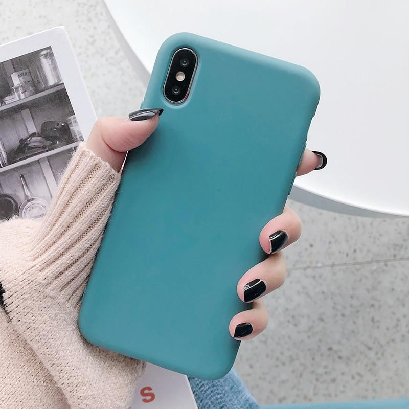 Candy Color Soft Silicone Phone Case For Huawei Mate30 Pro Mate20/P30 Pro P20