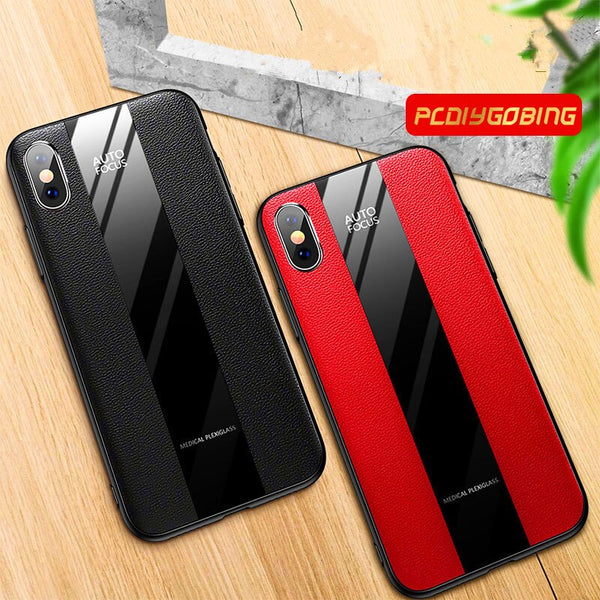 Luxury iPhone Flexible PU Slim Matte Case Premium Hybrid Protective Cover Back Casing