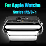 3D Tempered Glass For Apple Watch Series 4/3/2/1 Screen Protector Protective Film For watch 44mm 42mm 40mm 38mm