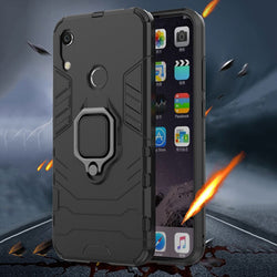 Shockproof Armor Case For Samsung Galaxy Note10/Note10Pro/S10/Plus Stand Holder Car Ring Phone Cover