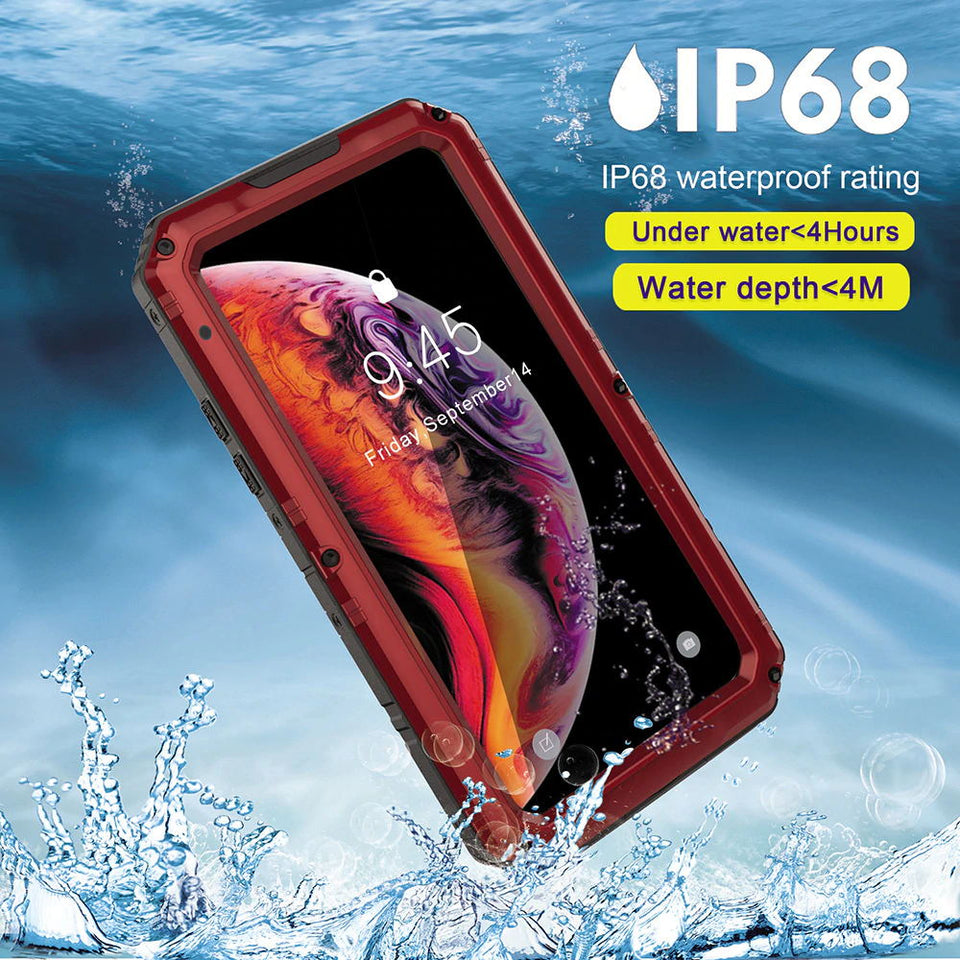 Waterproof Metal Cases Covers&Skins For iPhone