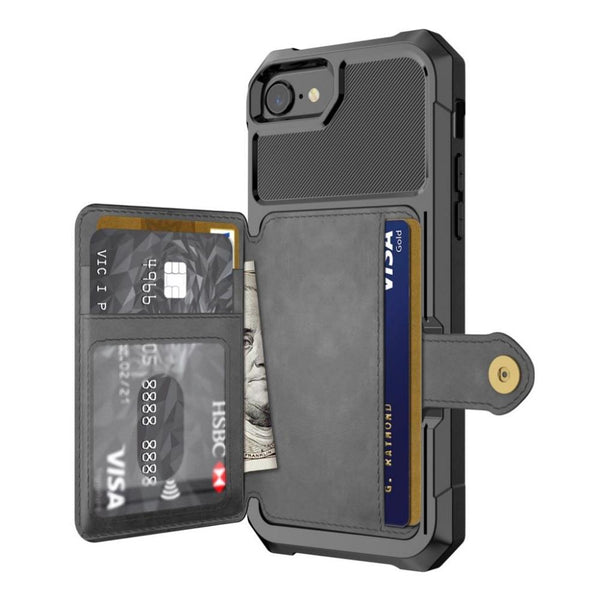 iPhone 11 luxury leather wallet car magnetic cover,For iPhone 11 ProMax / 11/11 / Max / 7/8 / 7Plus / 8Plus / X / XS / XR / XS Max