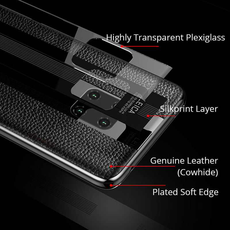 Luxury Huawei Flexible PU Slim Matte Case Premium Hybrid Protective Cover Back Casing
