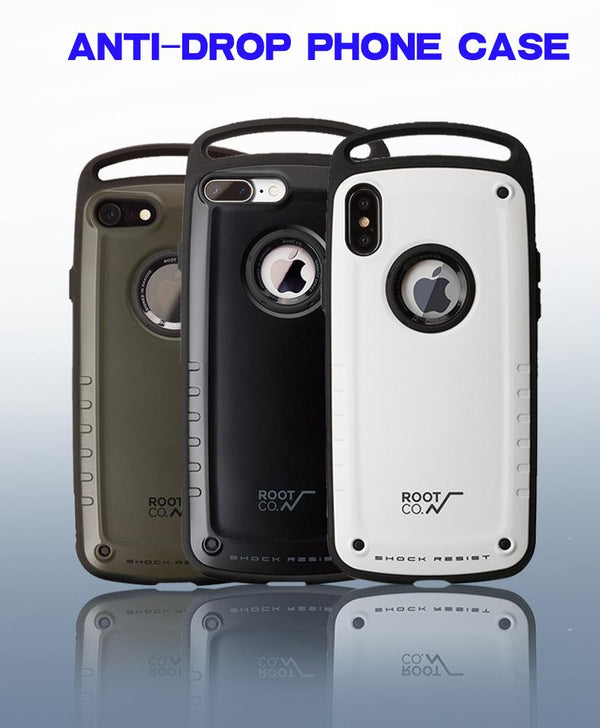 Outdoor anti-drop phone case for iPhone