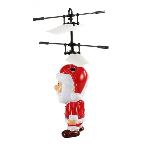 Infrared Sensor Flying Santa Automatic Hovering Toy Christmas Gift
