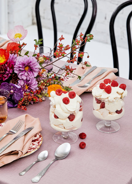 Charlotte Ree's Eton Mess With Fresh Raspberries