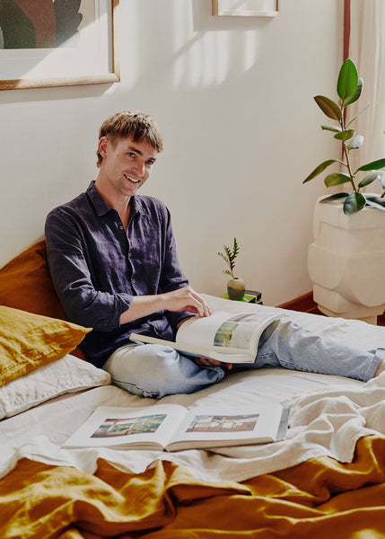Sculptor Lucas Wearne's Melbourne Home Is a Plant-Filled Oasis