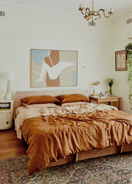 15 Incredible Bedrooms Featuring Our Rust and Terracotta Linens