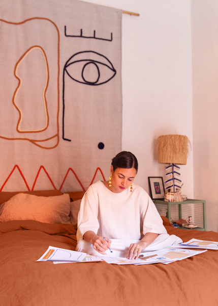 Tour LRNCE Founder Laurence Leenaert's Bohemian Home In Marrakech