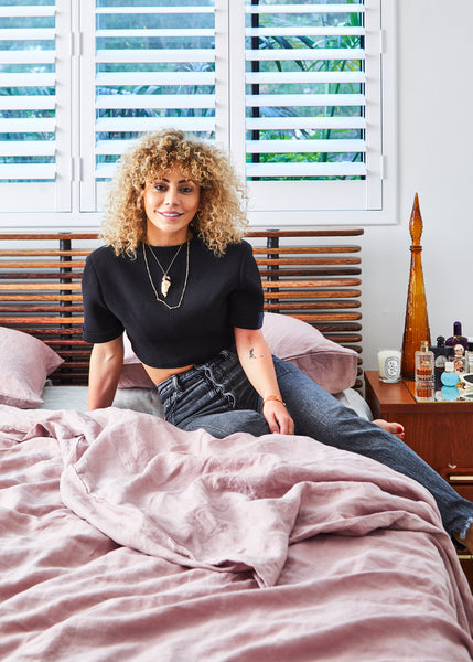 Inside Fashion Designer Lillian Khallouf's Stunning Home And Studio