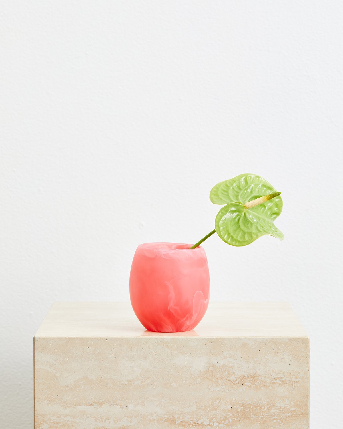 Dinosaur Designs Large Rock Cup in Pink Guava