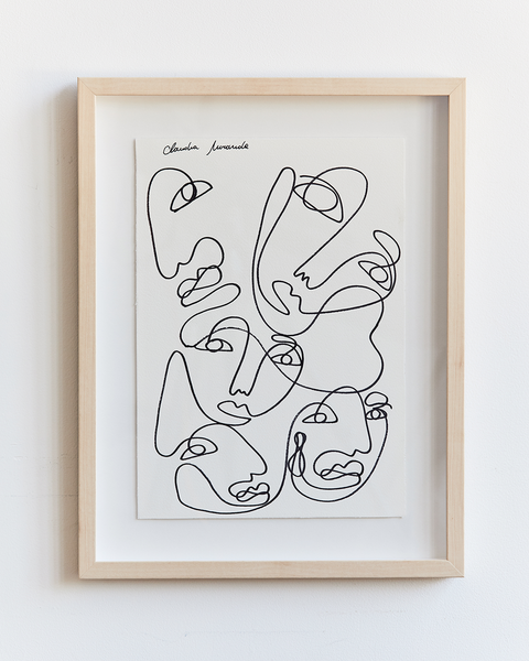 Claudia Miranda x Bed Threads 'One Together' Print - Bed Threads