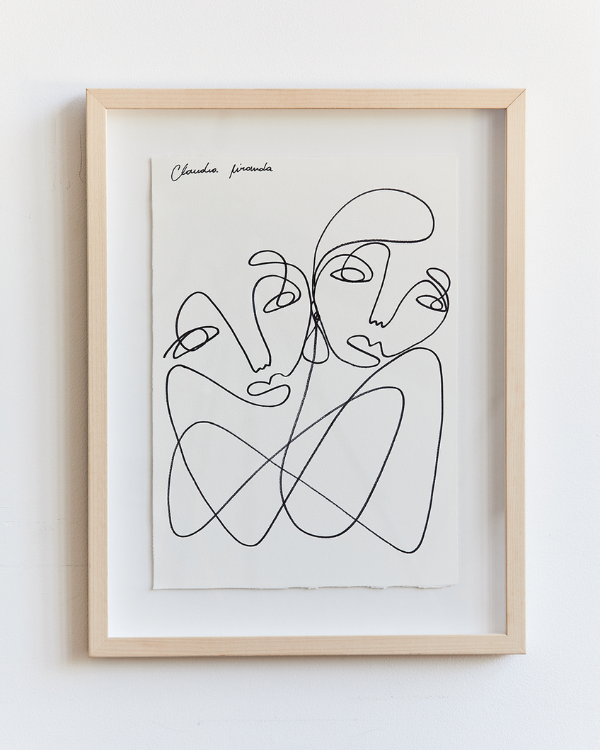 Claudia Miranda x Bed Threads 'True Connection' Print
