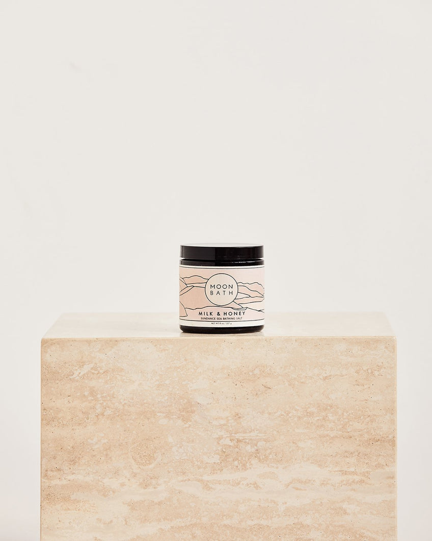 Moon Bath Milk & Honey Sundance Sea Bathing Salt