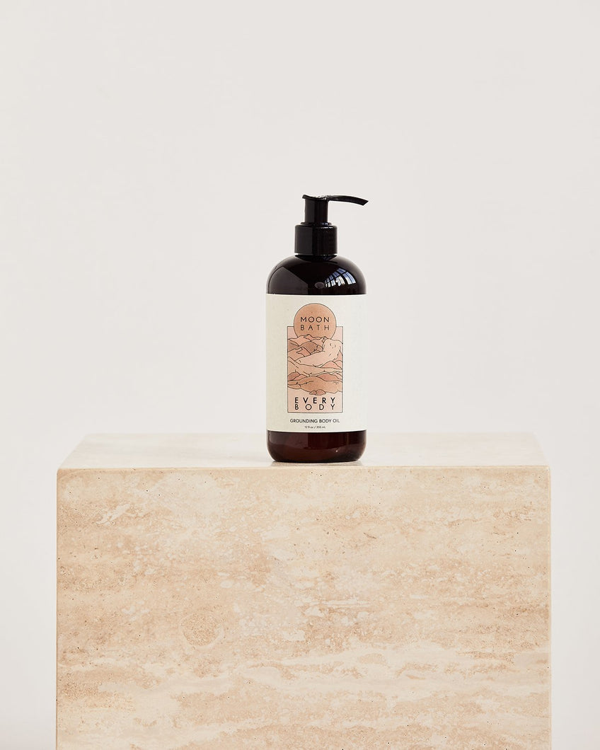Moon Bath Every Body Grounding Body Oil