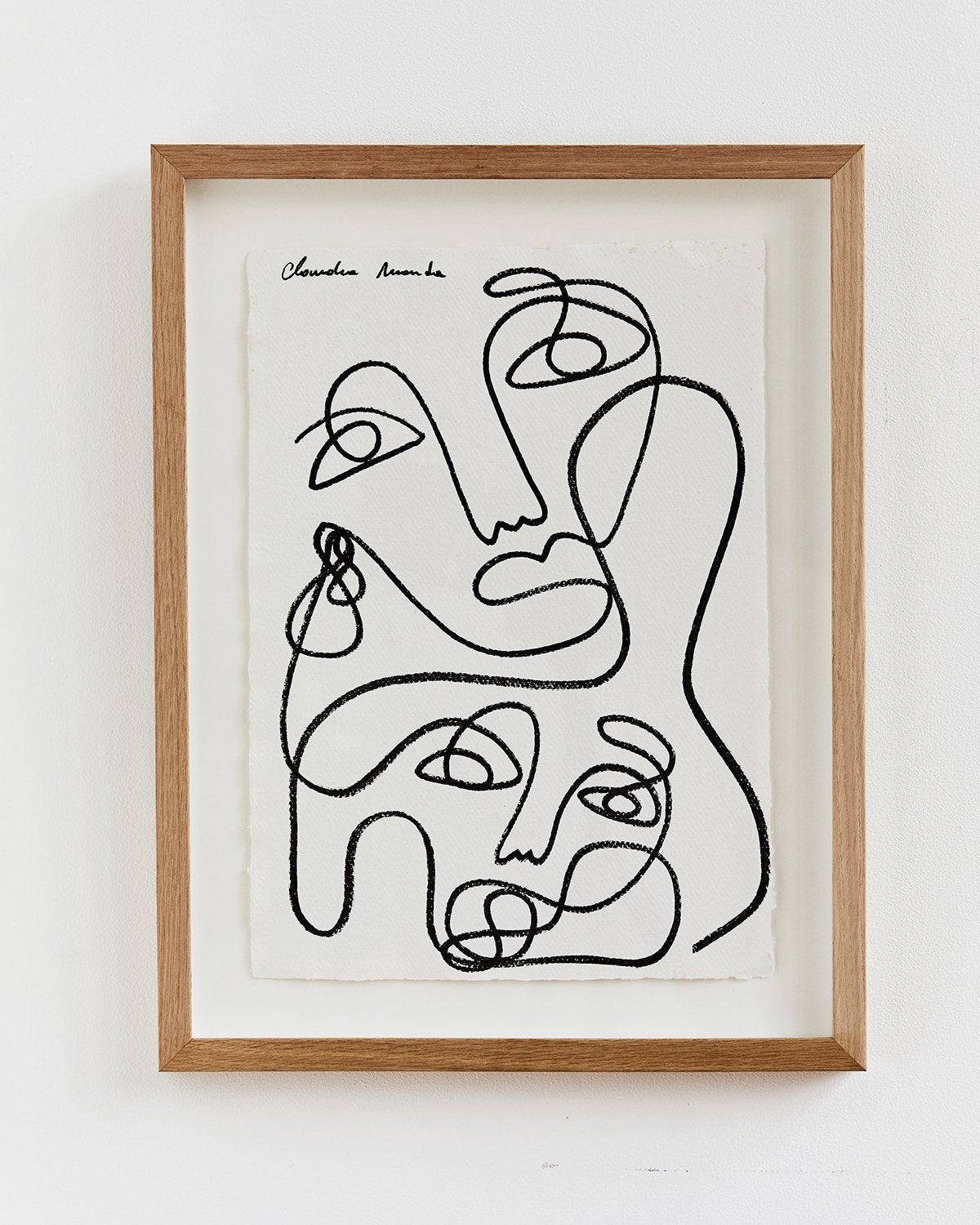 Claudia Miranda x Bed Threads 'Unconditional Love' Print