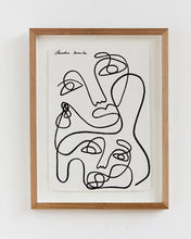 Load image into Gallery viewer, Claudia Miranda x Bed Threads 'Unconditional Love' Print