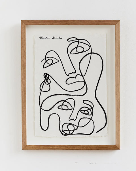 Claudia Miranda x Bed Threads 'Unconditional Love' Print - Bed Threads