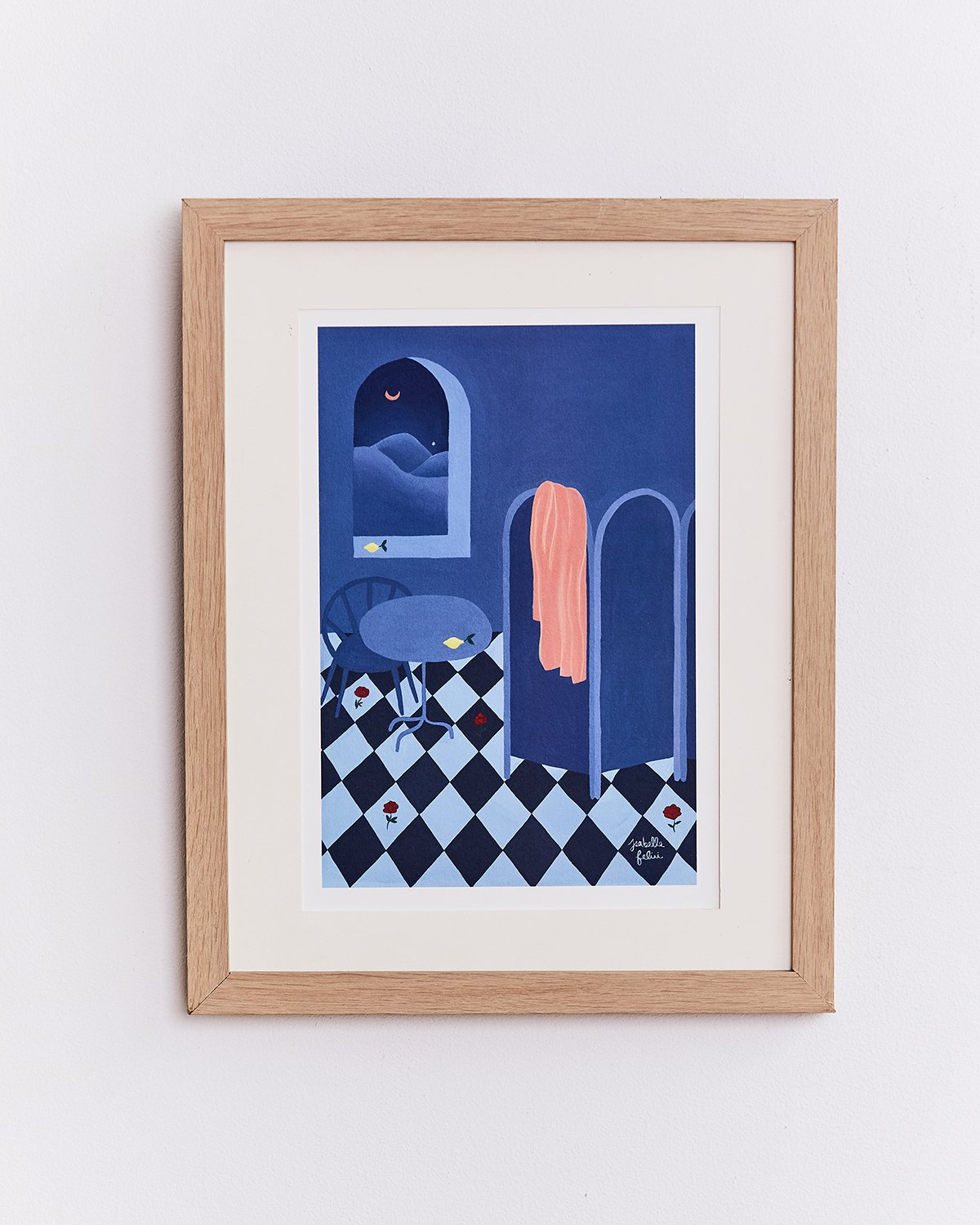Isabelle Feliu x Bed Threads 'Nuit Silencieuse' Print