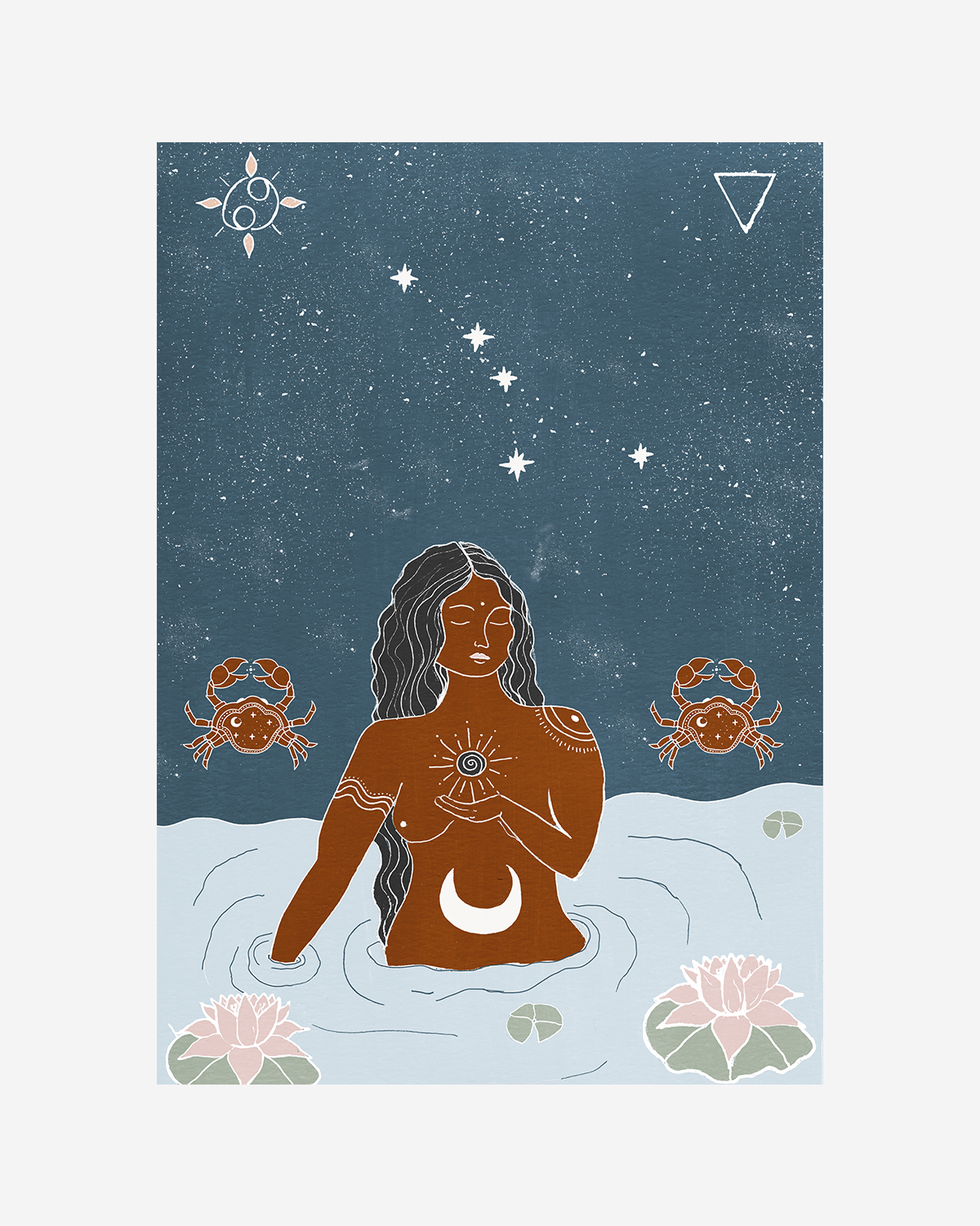 Seeds of Spells x Sisters Village 'Cancer' Print