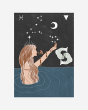 Load image into Gallery viewer, Seeds of Spells x Sisters Village 'Pisces' Print